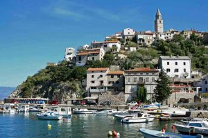 Vrbnik town on the Island of Krk