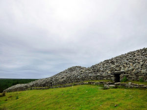 Bronze age burial cairns at Camster