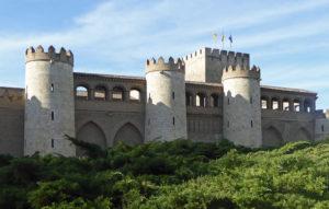 Aljafería Palace in Zaragoza
