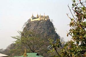 Popa Taung Kalat monastery
