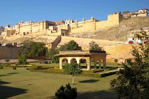 The Amber Fort near Jaipur