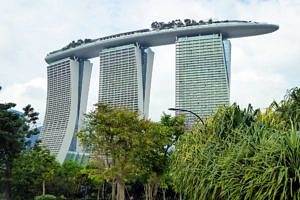 Crazy, but mesmerising Marina Sands Hotel