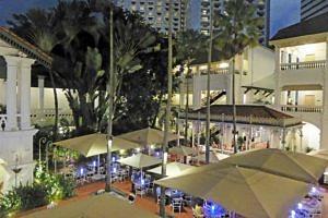 Palm Court at Raffles Hotel