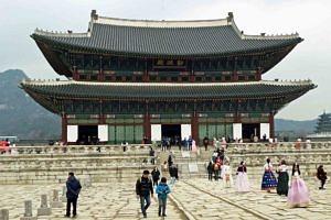 The Geunjeongjeon Throne Hall