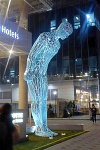 Street statue in Seoul
