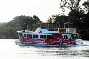City Hopper Ferry on the Brisbane River