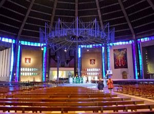 Inside the Catholic Metropolitan Cathedral