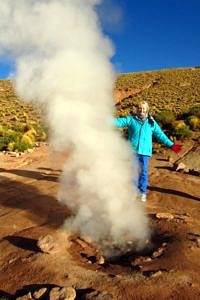 The author at El Tatio