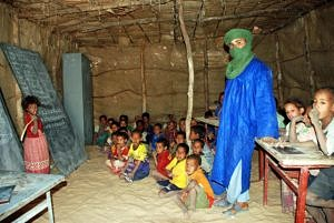 Tuareg school in Timbuktu