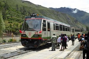 Inca Rail at Ollantaytambo