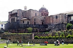 Santo Domingo Convent over the Incan Temple of the Sun