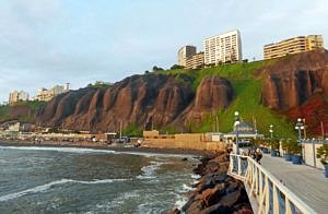 Beach area of Miraflores