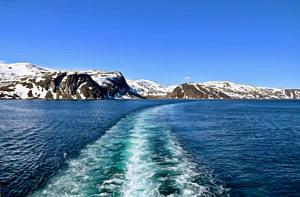 On route from Hammerfest to Havoysund