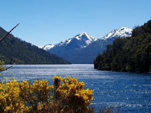 Argentina - Lago Nahuel Huapi in Bariloche in the Andes