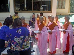 Nunnery in Sagaing