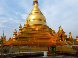 Burma: Kathadow Pagoda in Mandalay
