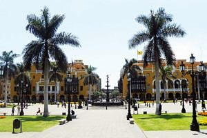 Main Square in Lima