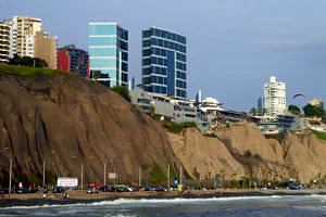 Peru: Seafront at Miraflores