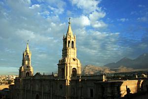 Sunrise over Arequipa