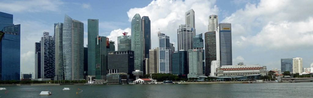 View across the Singapore River