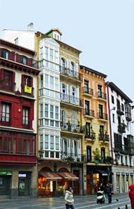 Bilbao Old Town near the Catedral de Santiago