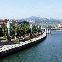 Northern Spain: By the River Nervión in Bilbao