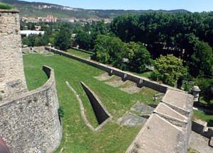 Pamplona city walls