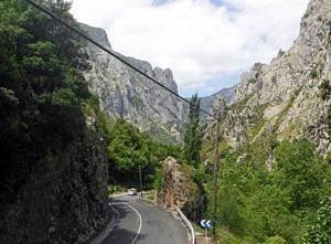 Driving through the Picos de Europa
