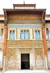 Entrance to the Alcazar