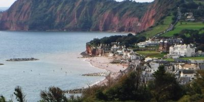 Sidmouth from the east cliffs