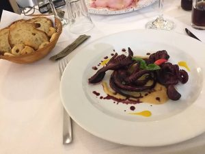 Apulia: Try an octopus appetiser