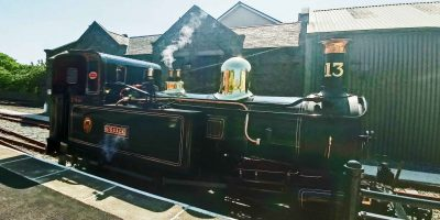Our engine at Port Erin
