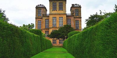 Hardwick New Hall from the Gardens