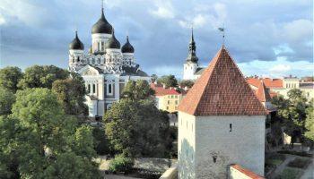 Baltic: Tallinn: Alexander Nevsky Cathedral on Toompea Hill