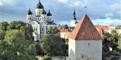 Baltic: Tallinn: Alexander Nevsky Cathedral on Toompea Hill