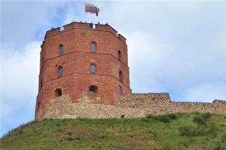 Baltic: Vilnius: Gediminas Castle Tower