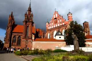 Vilnius: Church of  St Anne