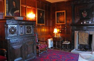Drawing room at Baddesley Clinton