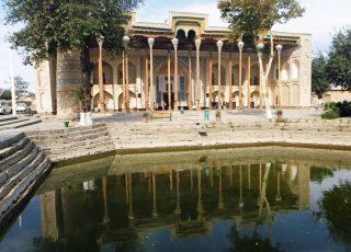 Bolo Hauz Mosque, Khiva