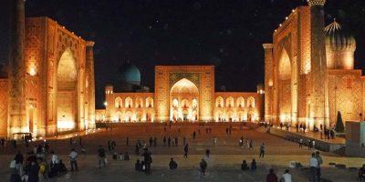 Uzbekistan: Registan Square Samarkand
