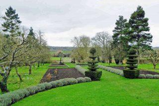 Canons Ashby Terraced gardens