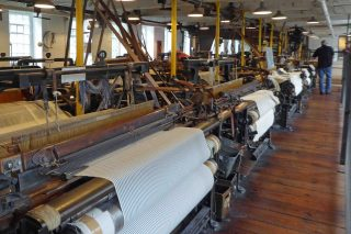 Quarry Bank: Bustle and clatter in the Weaving Room