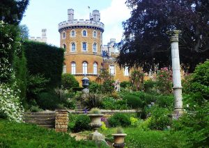 Belvoir Castle and Rose Garden