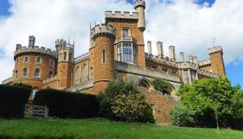 Belvoir Castle from the Spiral Walk