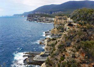 Tasman Peninsula near Devils's Kitchen