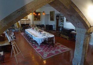 Berkeley Castle: The Billiard Room