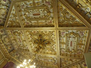 Ceiling of the Octagon Drawing Room