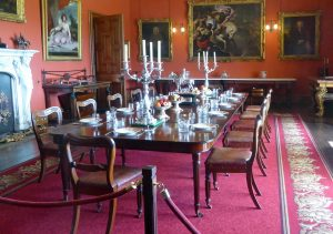 Raby Castle: Dining Room