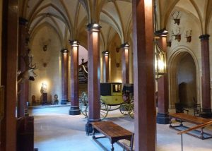 Raby Castle: Entrance Hall
