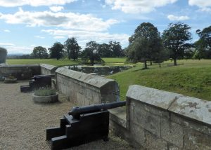 Raby Castle: The Battlements